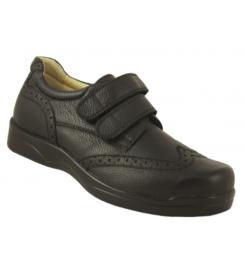 Chaussure Courmayeur Velcro Neut - orthopédie Lapeyre - chaussures thérapeutiques à usage prolongé - pieds douloureux