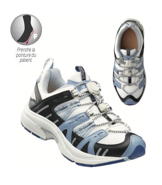 Chaussure Refresh Donjoy - orthopédie lapeyre - douleur tendon Achille - pieds diabétiques - pieds neuropathies