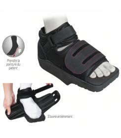 Chaussure Podapro Donjoy - orthopédie lapeyre - chaussure post opératoire - syndrome de morton - pieds sensibles