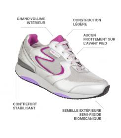 Chaussure Activity femme Neut - orthopédie Lapeyre - mise en décharge de l'avant-pied - pieds rhumatoïdes - pieds diabétiques -