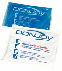 Pack de chaud / froid réutilisable Donjoy -  Orthopédie Lapeyre - traumatismes - hématome - douleur - torticolis - lumbago