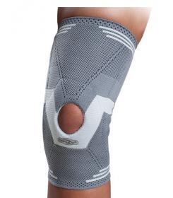 Genouillère Rotulax ouverte Donjoy - orthopédie lapeyre- douleur rotule - hyperlaxité rotule -