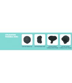 produits utilisés - Short Compreshorts Sigvaris - short compression - maintien - Lymphœdème génital  - œdème abdominal -