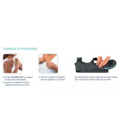 Brassière de compression Comprevest Sigvaris - Orthopédie Lapeyre - maintien poitrine