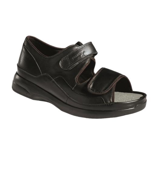 Chaussure New Caravaggio grand volume Podartis  - Orthopédie Lapeyre - ulcère au pied - décharge de l'avant - pied -