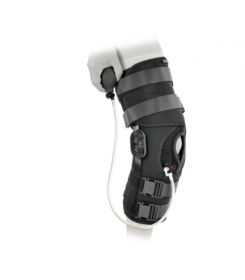Genouillère Support Everest Ice Donjoy - orthopédie lapeyre - immobilisation du genou- entorse - douleur - arthroscopie