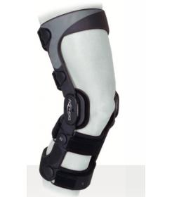 Genouillère Se 4 Point Donjoy - orthopédie Lapeyre - entorse genou - orthèse genou - stabilisation genou -