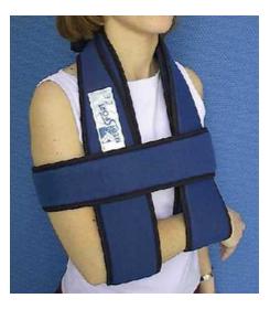 Attelle écharpe Medi Sport - Orthopédie Grenié Lapeyre - Luxation épaule - Traumatisme du membre supérieur-