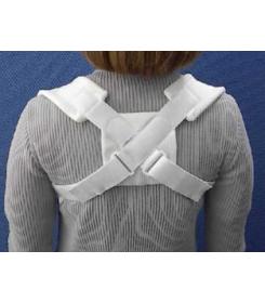 Anneaux claviculaires Velcro - Orthopédie Grenié Lapeyre - Fracture de la clavicule - luxation clavicule